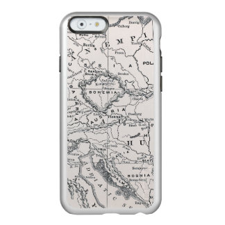 MAP: GERMANY AND AUSTRIA INCIPIO FEATHER® SHINE iPhone 6 CASE