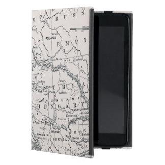 MAP: GERMANY AND AUSTRIA iPad MINI CASE