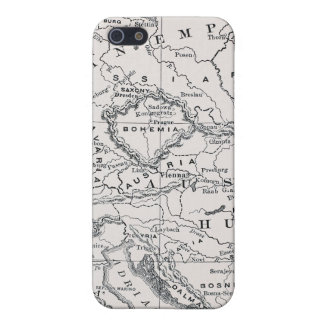 MAP: GERMANY AND AUSTRIA iPhone 5/5S COVER