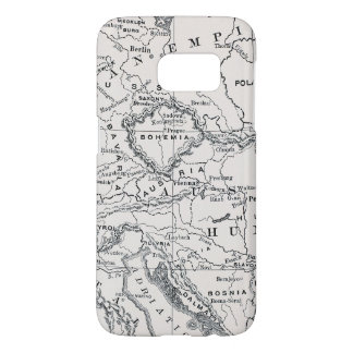 MAP: GERMANY AND AUSTRIA SAMSUNG GALAXY S7 CASE