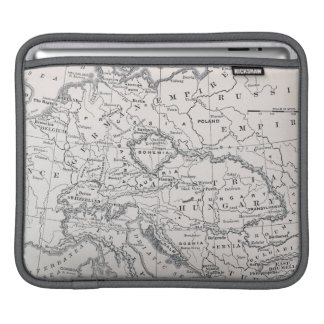 MAP: GERMANY AND AUSTRIA SLEEVES FOR iPads