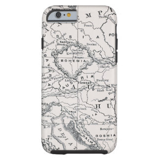MAP: GERMANY AND AUSTRIA TOUGH iPhone 6 CASE