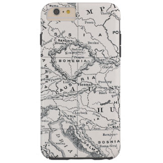 MAP: GERMANY AND AUSTRIA TOUGH iPhone 6 PLUS CASE