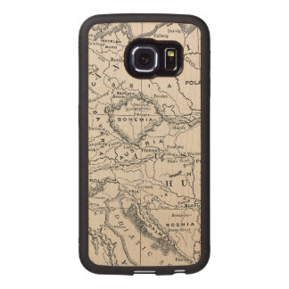 MAP: GERMANY AND AUSTRIA WOOD PHONE CASE