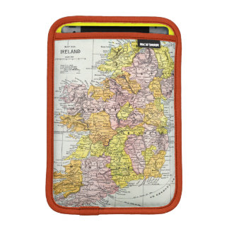 MAP: IRELAND, c1890 iPad Mini Sleeve