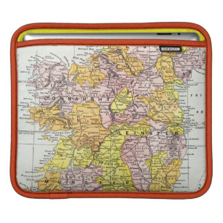 MAP: IRELAND, c1890 iPad Sleeves