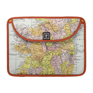 MAP: IRELAND, c1890 MacBook Pro Sleeve