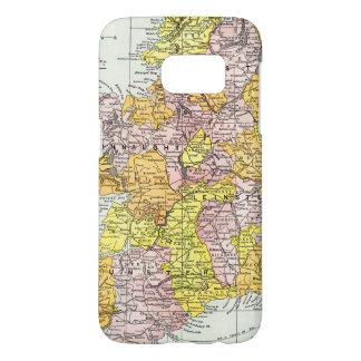 MAP: IRELAND, c1890 Samsung Galaxy S7 Case