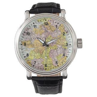 MAP: IRELAND, c1890 Watches