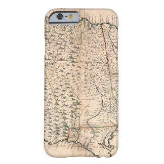 MAP: JAMAICA, 1755 2 BARELY THERE iPhone 6 CASE