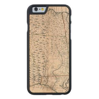MAP: JAMAICA, 1755 2 CARVED® MAPLE iPhone 6 SLIM CASE