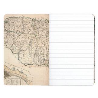 MAP: JAMAICA, 1755 2 JOURNAL