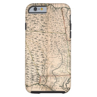 MAP: JAMAICA, 1755 2 TOUGH iPhone 6 CASE