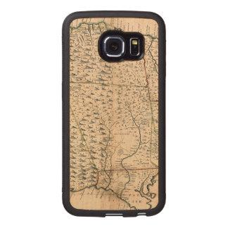 MAP: JAMAICA, 1755 2 WOOD PHONE CASE