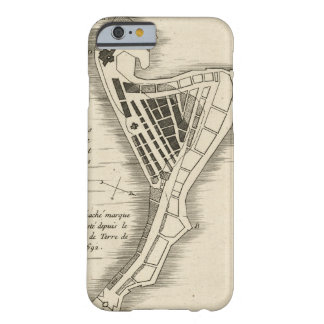 MAP: JAMAICA, 1755 BARELY THERE iPhone 6 CASE