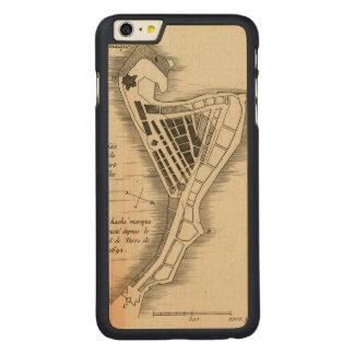 MAP: JAMAICA, 1755 CARVED® MAPLE iPhone 6 PLUS CASE