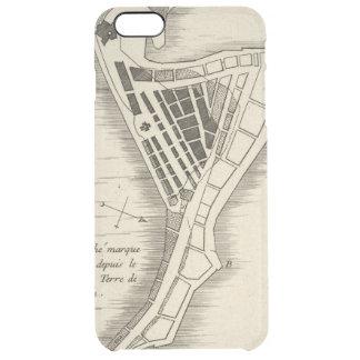 MAP: JAMAICA, 1755 CLEAR iPhone 6 PLUS CASE