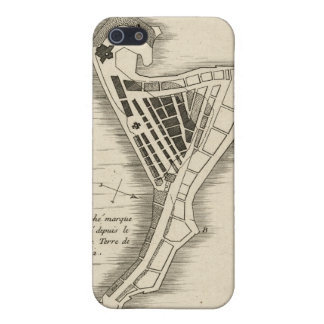 MAP: JAMAICA, 1755 COVER FOR iPhone 5/5S