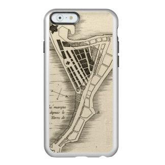 MAP: JAMAICA, 1755 INCIPIO FEATHER® SHINE iPhone 6 CASE