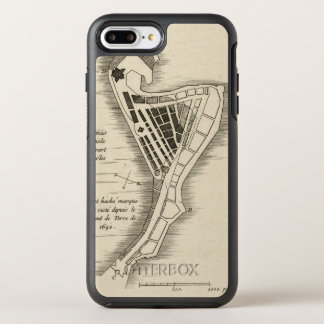 MAP: JAMAICA, 1755 OtterBox SYMMETRY iPhone 7 PLUS CASE