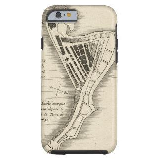 MAP: JAMAICA, 1755 TOUGH iPhone 6 CASE