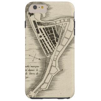 MAP: JAMAICA, 1755 TOUGH iPhone 6 PLUS CASE