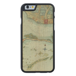 MAP: JAMAICA, 1756 CARVED® MAPLE iPhone 6 CASE