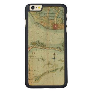 MAP: JAMAICA, 1756 CARVED® MAPLE iPhone 6 PLUS CASE