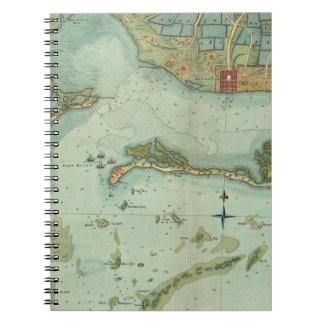 MAP: JAMAICA, 1756 NOTE BOOK