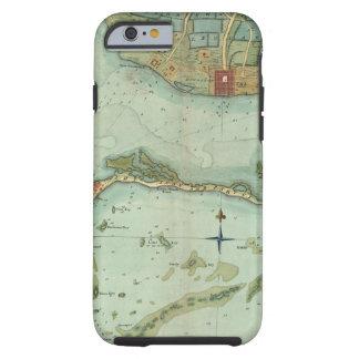 MAP: JAMAICA, 1756 TOUGH iPhone 6 CASE