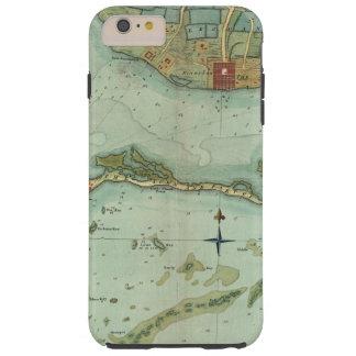 MAP: JAMAICA, 1756 TOUGH iPhone 6 PLUS CASE