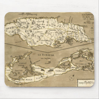 MAP: JAMAICA, 1767 MOUSE PAD