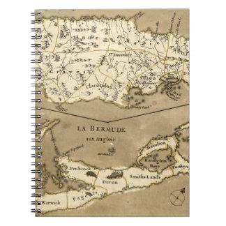 MAP: JAMAICA, 1767 NOTEBOOKS