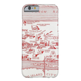MAP: MANHATTAN, c1935 Barely There iPhone 6 Case