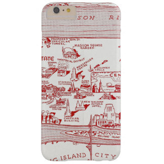 MAP: MANHATTAN, c1935 Barely There iPhone 6 Plus Case