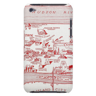 MAP: MANHATTAN, c1935 Barely There iPod Covers