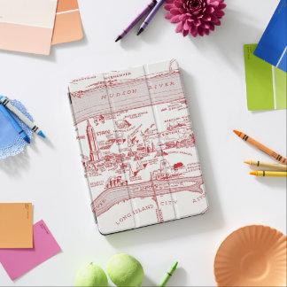 MAP: MANHATTAN, c1935 iPad Air Cover