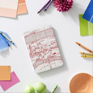 MAP: MANHATTAN, c1935 iPad Mini Cover