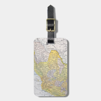 MAP: MEXICO LUGGAGE TAG