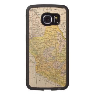 MAP: MEXICO WOOD PHONE CASE