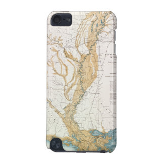MAP: MISSISSIPPI RIVER, 1861 iPod TOUCH 5G CASES