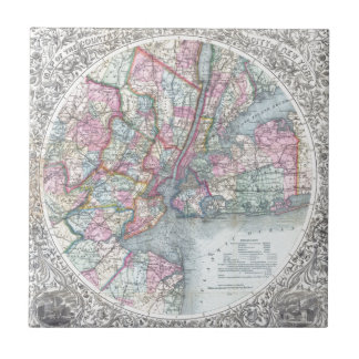 Map  New York City Tile