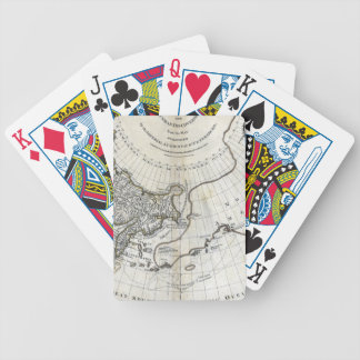 MAP: NORTH PACIFIC BICYCLE PLAYING CARDS