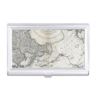 MAP: NORTH PACIFIC BUSINESS CARD CASE
