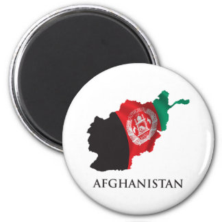 Map Of Afghanistan Magnet