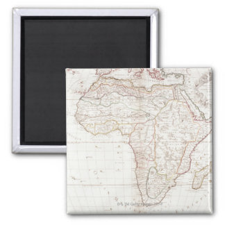 Map of Africa 2 Magnet