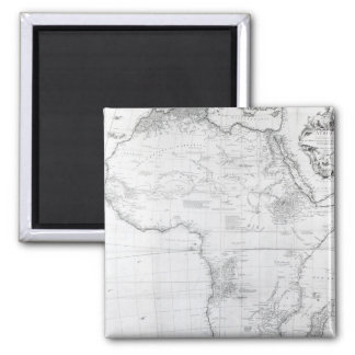 Map of Africa Magnets