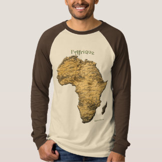 Map of AFRICA Series T-Shirt