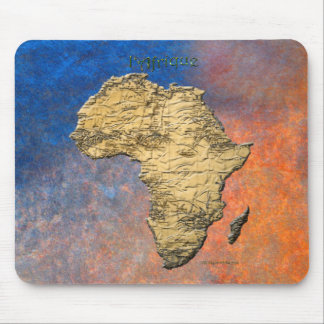 Map of Africa The Dark Continent Mousepad