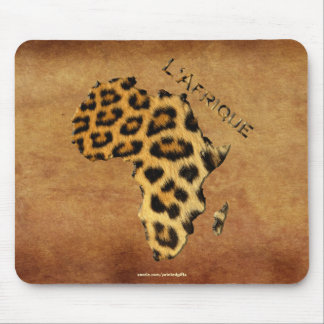Map of Africa The Dark Continent Mousepads